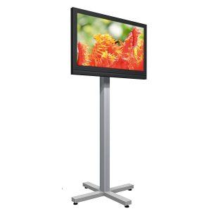Der Octanorm Monitorständer als Beispiel für digitale multimedia Displays von Medienhaus RETE