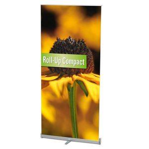 Ein Beispiel der Roll up Banner: Roll up Compact von Medienhaus RETE