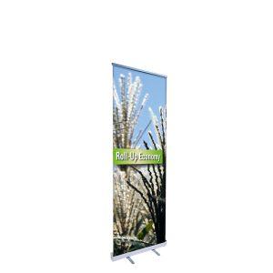Ein Beispiel für Roll up Displays ist der Roll up Economy von RETE Medienhaus