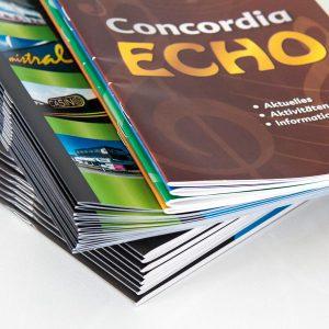 Service rund um Digitaldruck von RETE Beispiel Zeitschriften