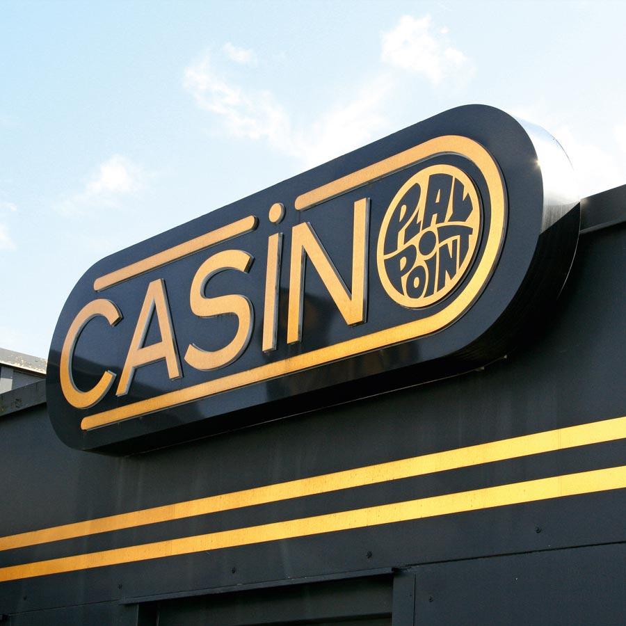 Beispiel Casino 3D-Buchstaben und Objekte