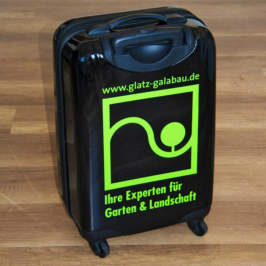 Folierungen Koffer Sonderlösung Glatz Galabau