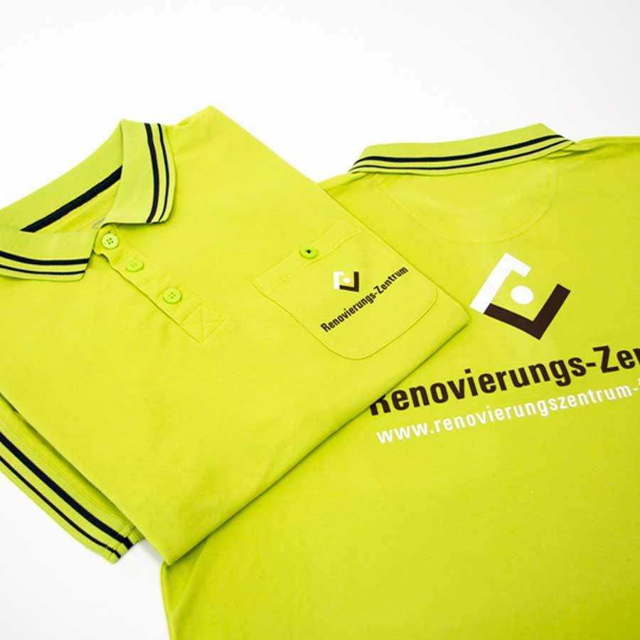 Arbeitskleidung Textildruck Werbetechnik RETE