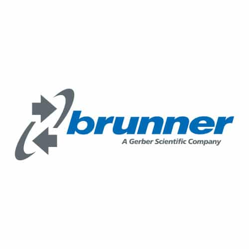 Partner Logo Brunner A Gerber Scientific Company Medienhaus RETE