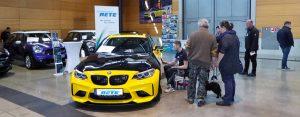 BMW mit Autofolierung von Medienhaus RETE