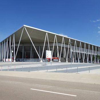 Europa Park Stadion Sportclub Freiburg Werbetechnik Medienhaus RETE