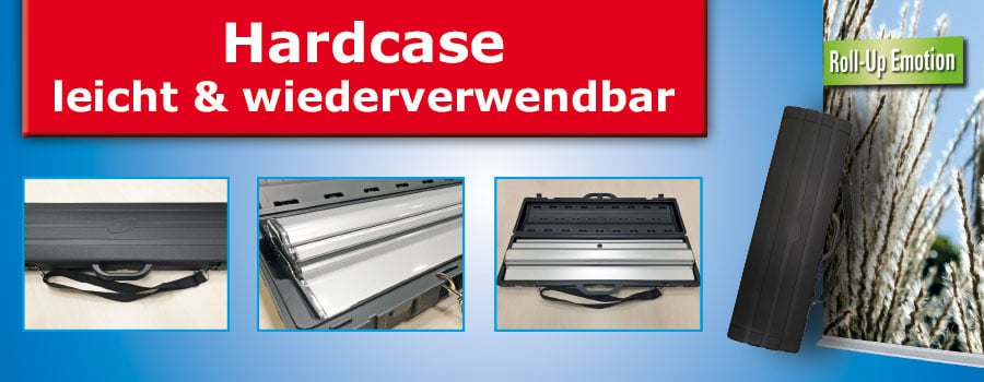 Hardcase Koffer Roll up