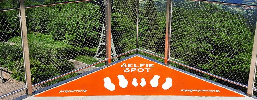 Selfie-Point Schwarzwald Werbetechnik