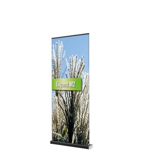 Transportable Roll up Displays, z. B. das Expand M2