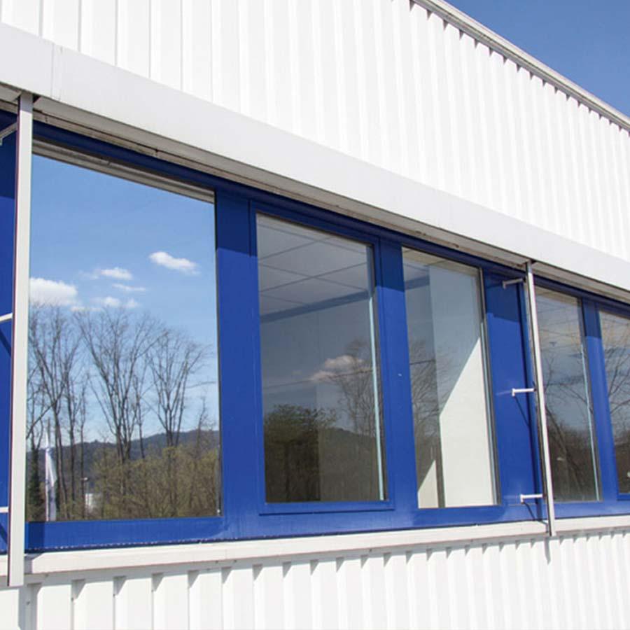 Sonnenschutzfolie an Fenstern von RETE