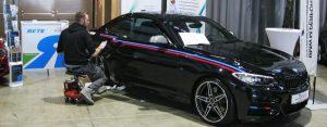 Fahrzeugfolierungen BMW Coupe 240 Folie Auto bekleben