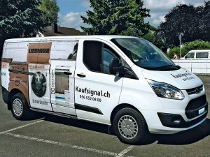 Werbefolierung Firmenwagen Folierung