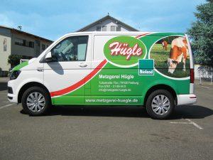 Werbefolierung T5 Lieferwagen Folierung
