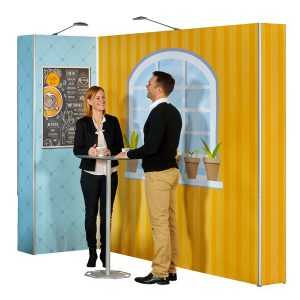 Messestand Expolinc Portable Table