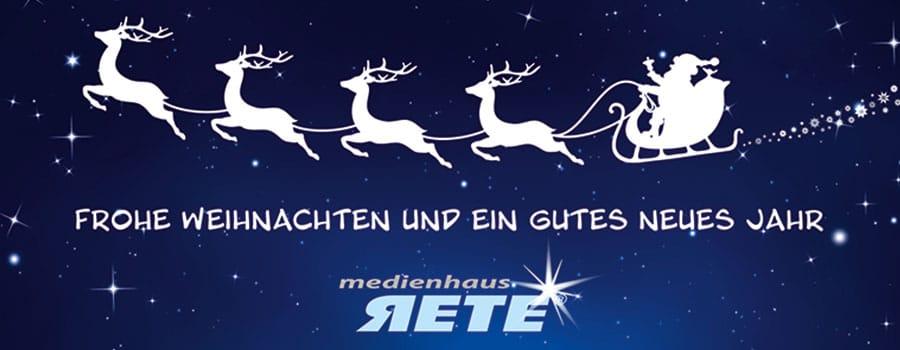 Frohe Weihnachten Und Guten Rutsch In Neues Jahr.Frohe Weihnachten Und Einen Guten Rutsch Rete