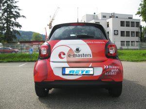 Elektroauto folieren