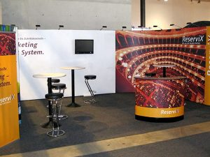 Messestand Expand 2000