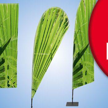disfly Fahnen für jeden Einsatzzweck im Außenbereich Beachflag