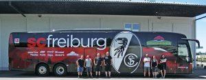 Werbetechnik im Sport in Freiburg