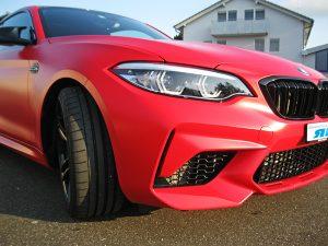 Autofolierung M2 BMW