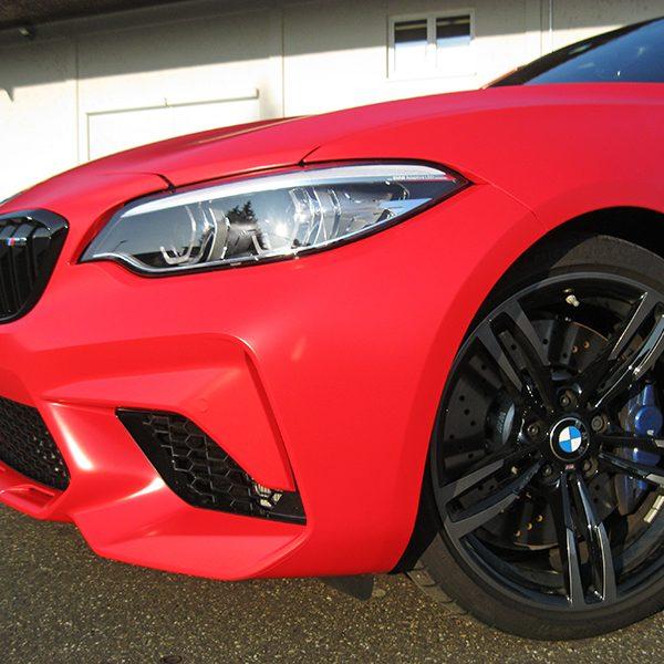 Autofolierung BMW M2 vollfoliert