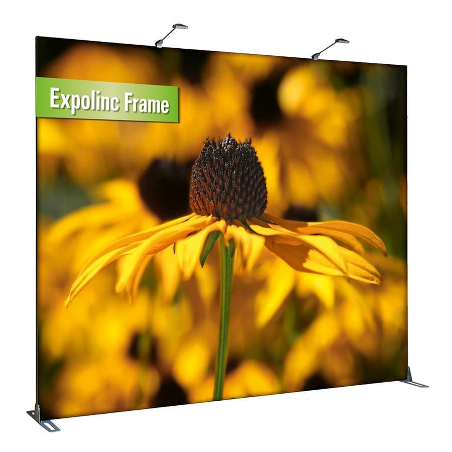 Das Wanddisplay Expolinc Frame von Rete Medienhaus