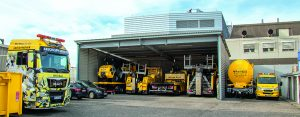 Flottenbeschriftung LKW Nutzfahrzeuge