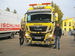 LKW Fahrzeugbeschriftung