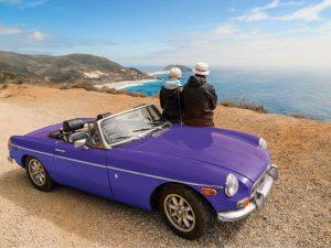 Auffallende Fahrzeugbeschriftung Cabrio Folierung