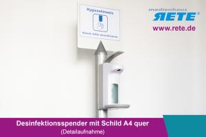 Desinfektionsspender zum AufstellenHygieneschutz mit Desinfektion kaufen in Freiburg