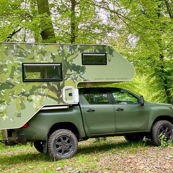 Tarnfolierung Toyota Autofolierung Camouflage