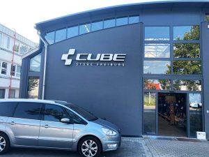 Firmenbeschriftung 3D Buchstaben Werbetechnik Freiburg