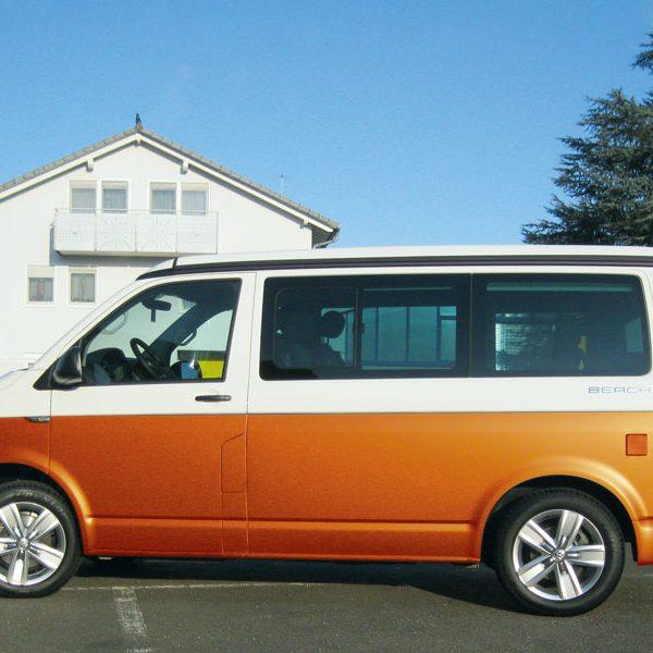 VW_T6_seitlich_orange Teilfolierung