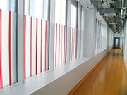Fenstergestaltung Sichtschutz Folienverklebung Haus Gebäude