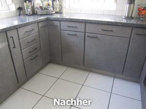 Küche Betonstyle Küchenmöbelneugestaltung