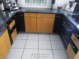 Küchenmöbelneugestaltung