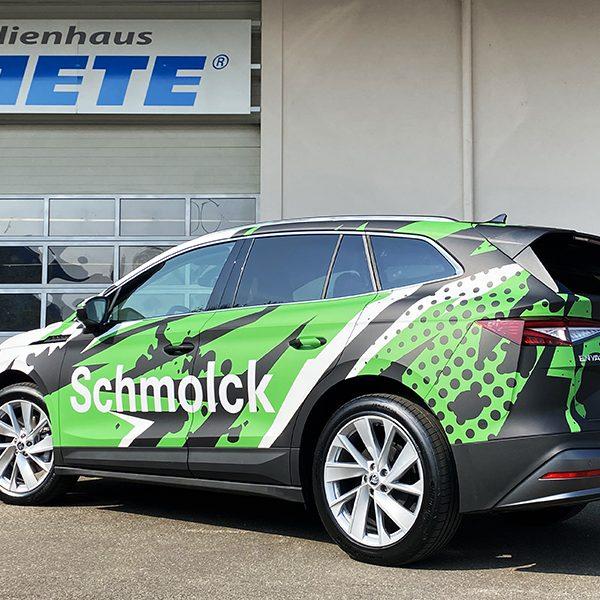 Skodia Fahrzeugfolierung Auto bekleben in Freiburg Beklebung