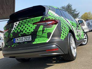 Skodia Fahrzeugfolierung Auto bekleben in Freiburg Emmendingen Beklebung