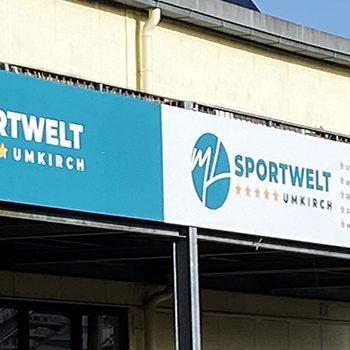 Werbeschriftung Umkirch Werbetechnik Freiburg Banner