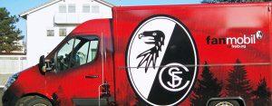 Autofolierung SC Freiburgg
