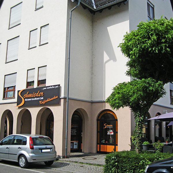 3D-Logo Freiburg für ein Cafe